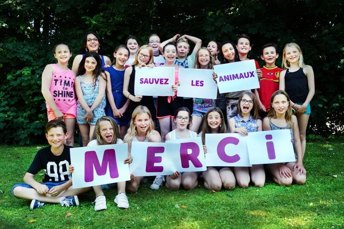 Des élèves recueillent 15.000 signatures pour les cochons !