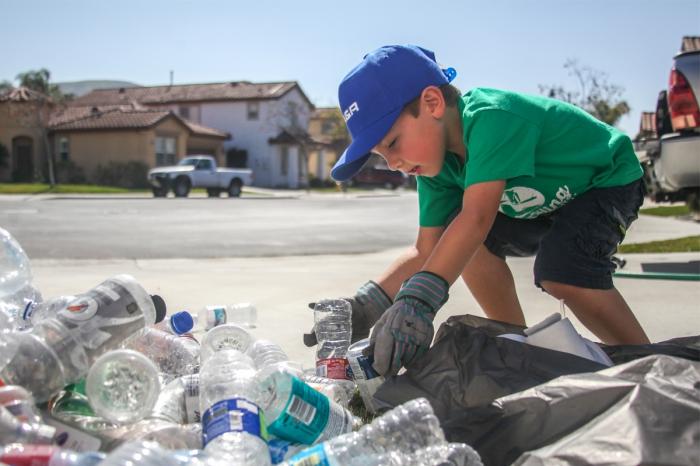 Ryan (7) komt op voor dieren en voor het milieu!