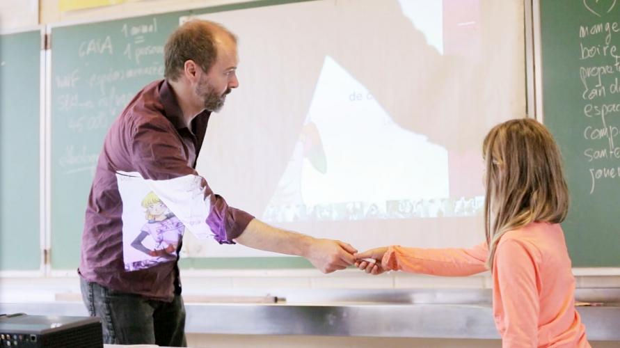 GAIAKIDS  /  Les animations à l'école sur la protection des animaux avec Dominic Hofbauer
