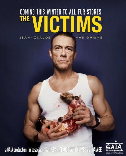 Jean-Claude Van Damme tegen bont
