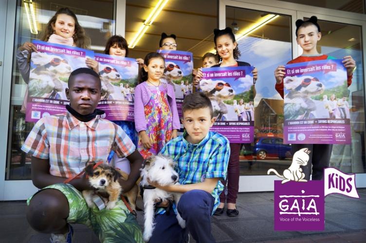 Le Conseil communal des enfants de Quaregnon en action !