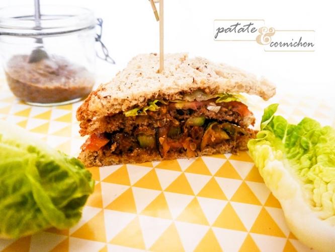 Des sandwiches végétariens !