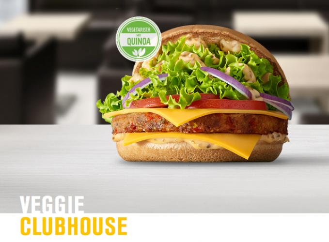 Un burger végétarien chez McDonald's (Allemagne)