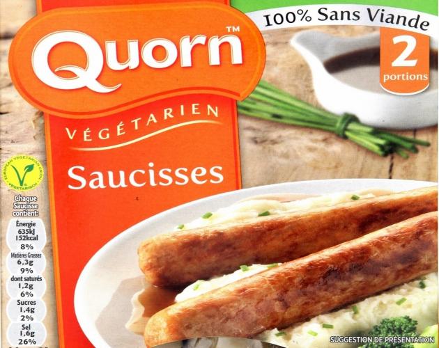 Les saucisses végétales, c'est génial !
