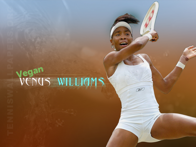 VENUS WILLIAMS est vegan