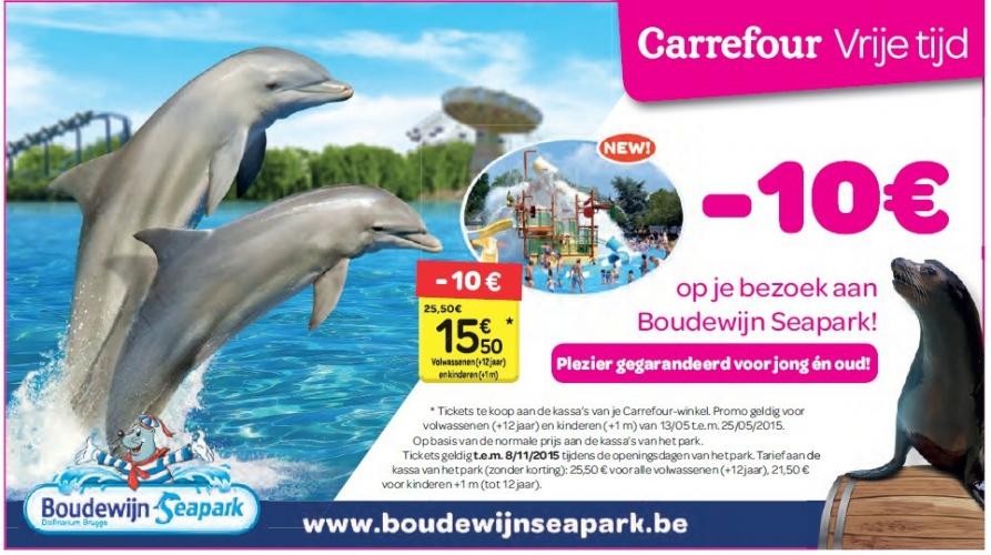 Boudewijn Seapark de Bruges : la publicité